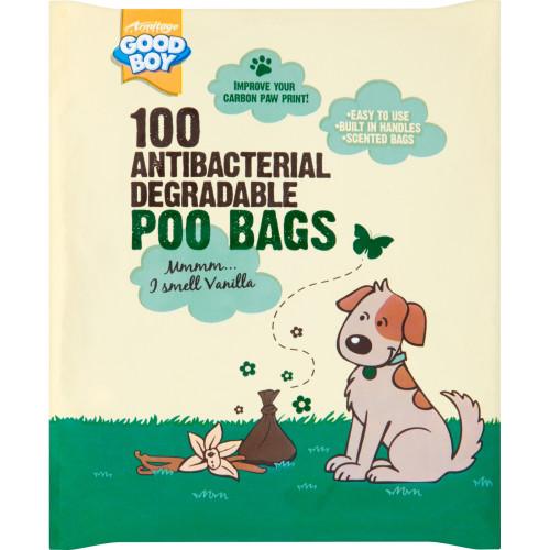 Good Boy Antibacterial Biodegradable Poo Bags 100 Bags