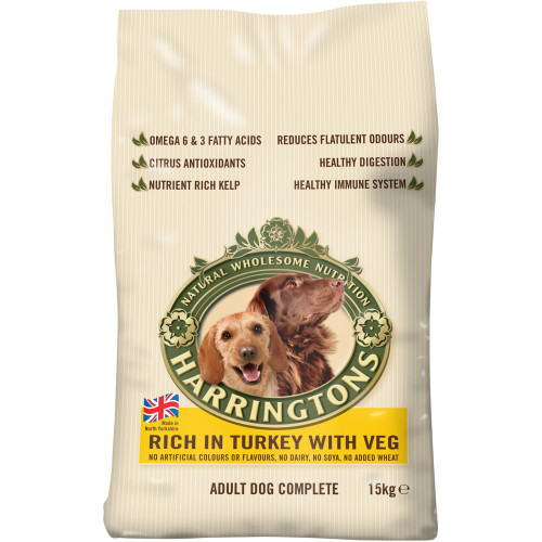 Harringtons Turkey & Veg Dog Food