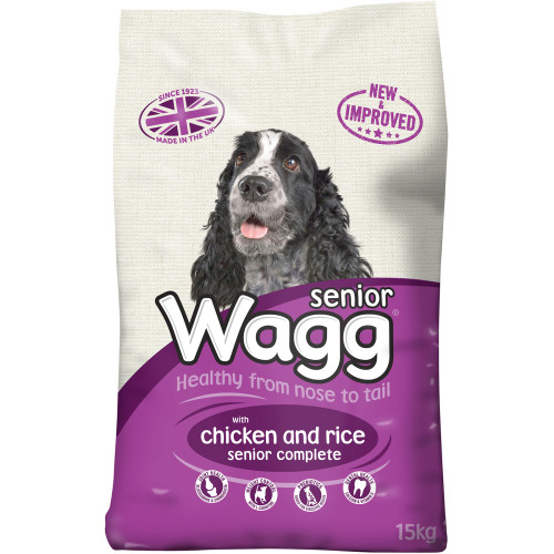 Wagg Complete Senior Dog Food