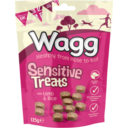 Wagg Sensitive Lamb & Rice Dog Treats