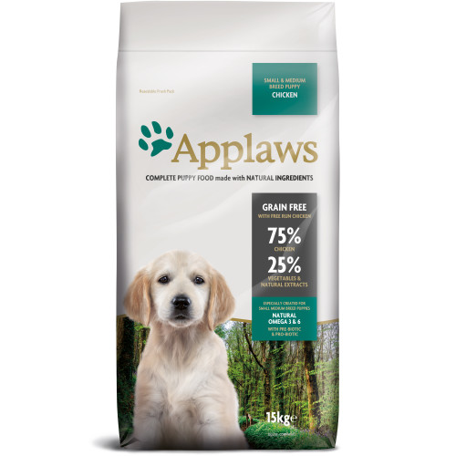 Applaws Chicken Small Medium Breed Dry Puppy Food
