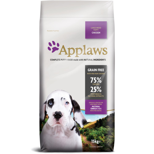 Applaws Chicken Large Breed Dry Puppy Food 15kg