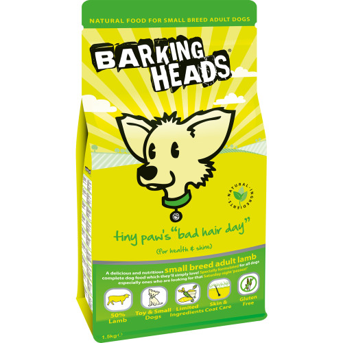 Barking Heads Small Breed Chop Lickin' Lamb Adult Dog Food