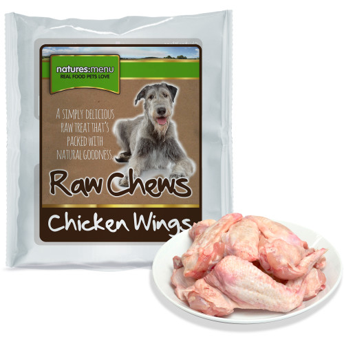 Natures Menu Chicken Wings Raw Frozen Dog Food