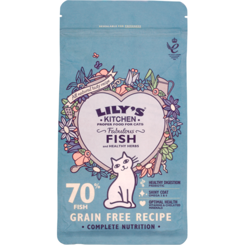 Lilys Kitchen Fabulous Fish Complete Adult Cat Food 2kg