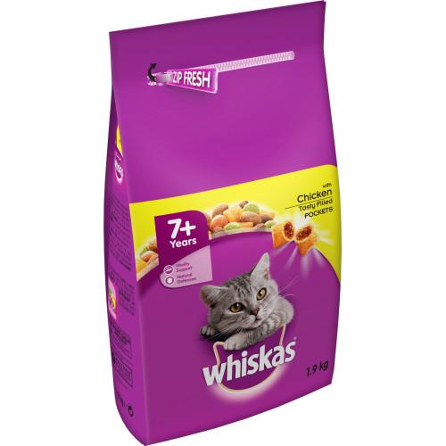 Whiskas 7+ Chicken Dry Senior Cat Food