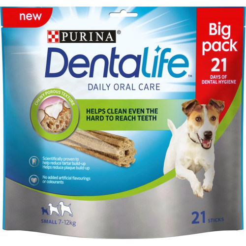 Purina Dentalife Small Adult Dog Chew 21 Stick