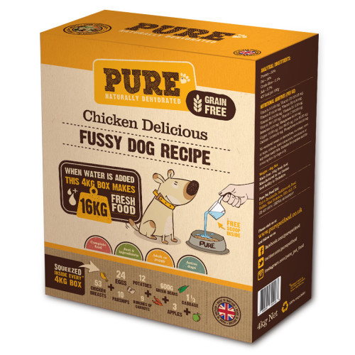 Pure Pet Food Chicken Delicious Dehydrated Dog Food
