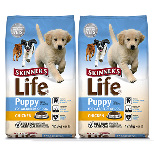 Skinners Life Puppy Chicken Dog Food