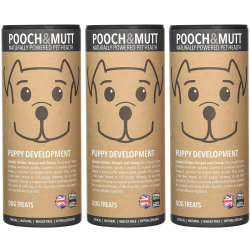 Pooch & Mutt Puppy Development Natural Dog Treats