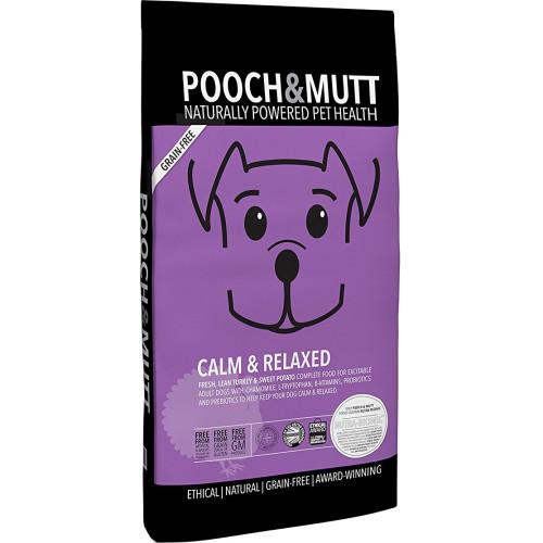 Pooch & Mutt Calm & Relaxed Turkey Adult Dog Food