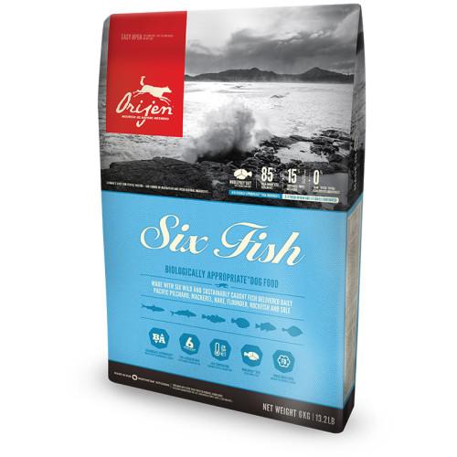 Orijen Six Fish Adult Dog Food 340g Trial Size