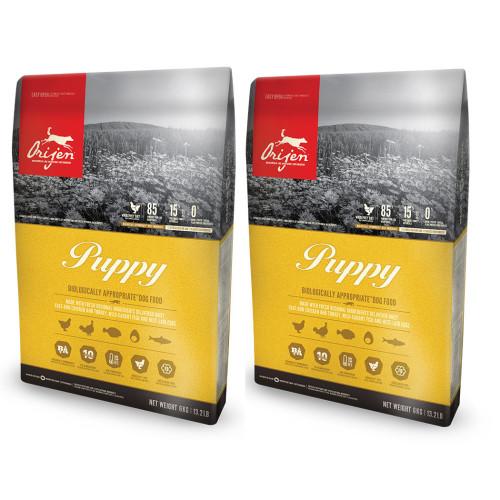 Orijen Puppy Food 11.4kg x 2