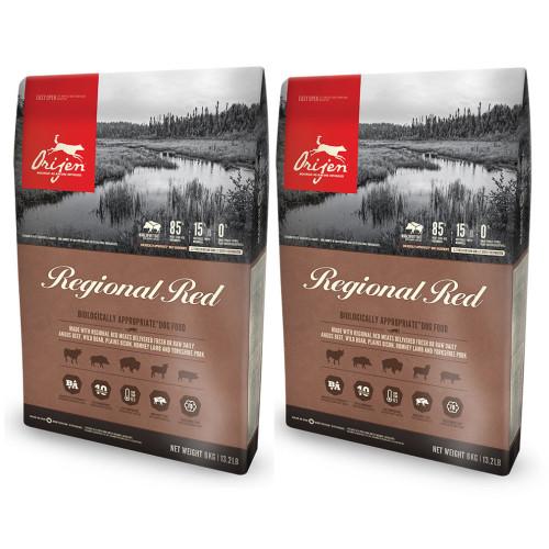 Orijen Regional Red Adult Dog Food 2kg x 2