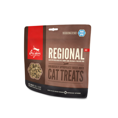 Orijen Freeze Dried Regional Red Cat Treats 35g