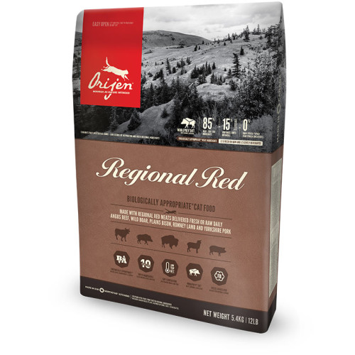 Orijen Regional Red Cat Food 5.4kg x 2
