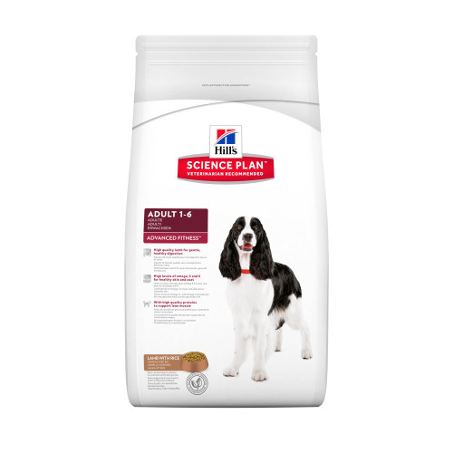 Hills Science Plan Lamb Medium Breed Adult Dog Food