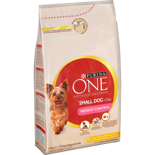 Purina ONE Small Dog Weight Control Turkey & Rice Adult Dog Food