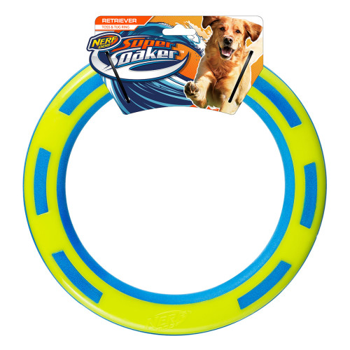 NERF Super Soaker Ring Dog Toy