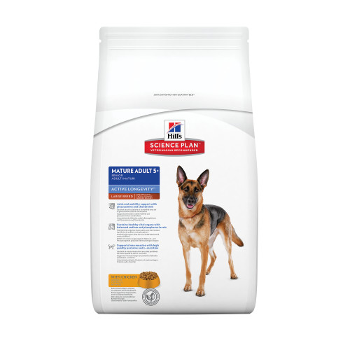 Hills Science Plan Mature Adult 5+ Chicken Large Breed Dog Food