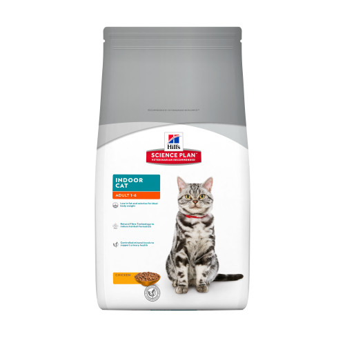 Hills Science Plan Feline Adult Indoor Cat Chicken