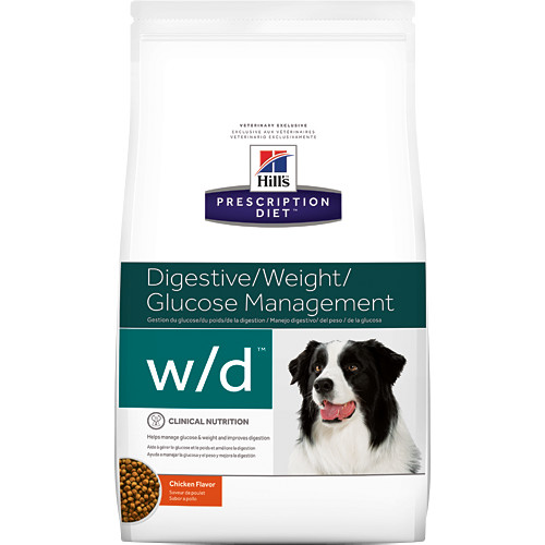 Hills Prescription Diet WD Digestive, Weight & Diabetes Management Chicken Dry Dog Food