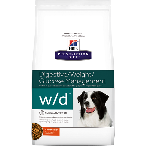 Hills Prescription Diet WD Digestive, Weight & Diabetes Management Chicken Dry Dog Food 1.5kg