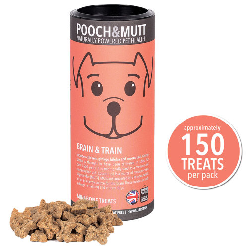 Pooch & Mutt Brain Train Natural Dog Treats