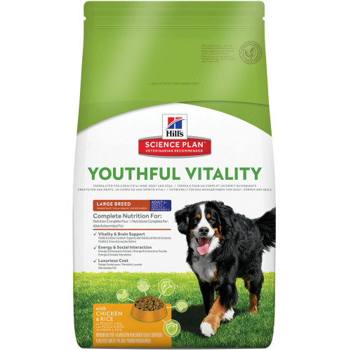 Hills Science Plan Canine Youthful Vitality Adult & Senior 5+ Large Chicken