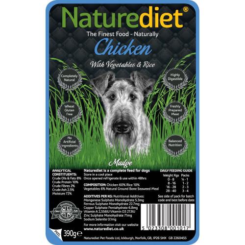Naturediet Chicken Vegetables & Rice Dog Food