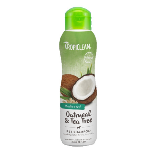 Tropiclean Oatmeal & Tea Tree Shampoo