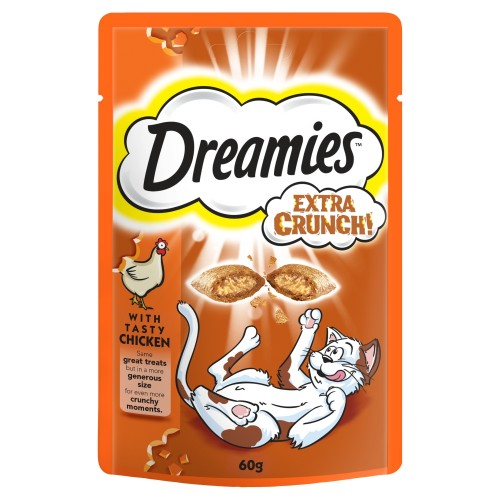 Dreamies Extra Crunch Cat Treats