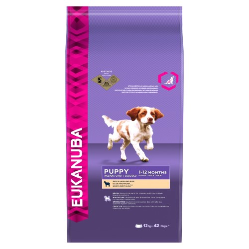 Eukanuba Lamb & Rice Puppy Food 12kg