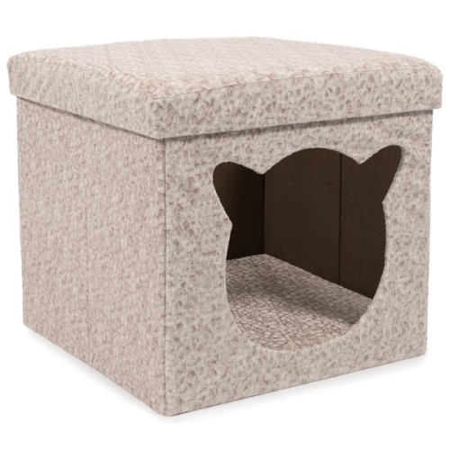 Ancol Crushed Velvet Cat Cabin