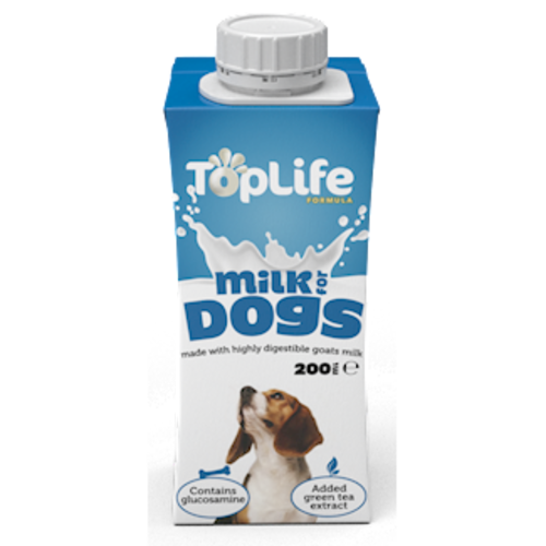 Toplife Goats Milk For Dogs 200ml x 18