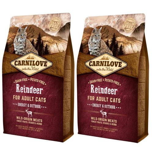 Carnilove Energy & Outdoor Reindeer Adult Cat Food