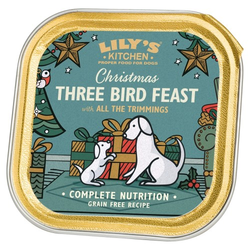 Lilys Kitchen Three Bird Feast Dog Food