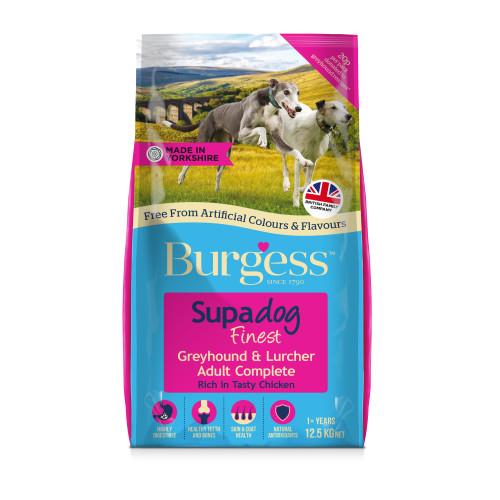 Burgess Supadog Chicken Greyhound & Lurcher Adult Dog Food