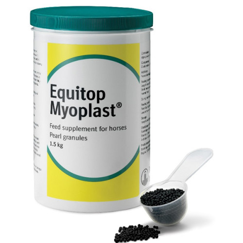 Equitop Myoplast Muscle Construction Horse Supplement 1.5kg