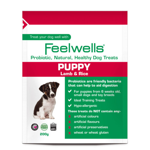 Feelwells Probiotic Lamb & Rice Puppy Treats