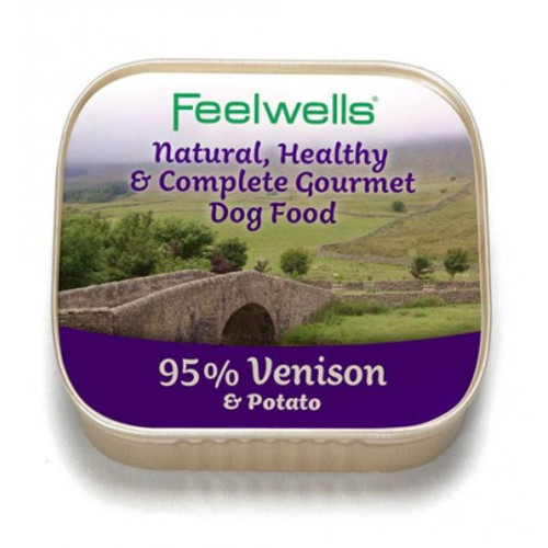 Feelwells Venison & Potato Wet Dog Food