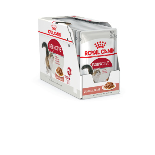 Royal Canin Health Nutrition Instinctive in Gravy Cat Food