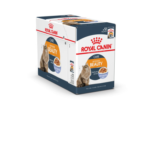 Royal Canin Intense Beauty in Jelly Cat Food