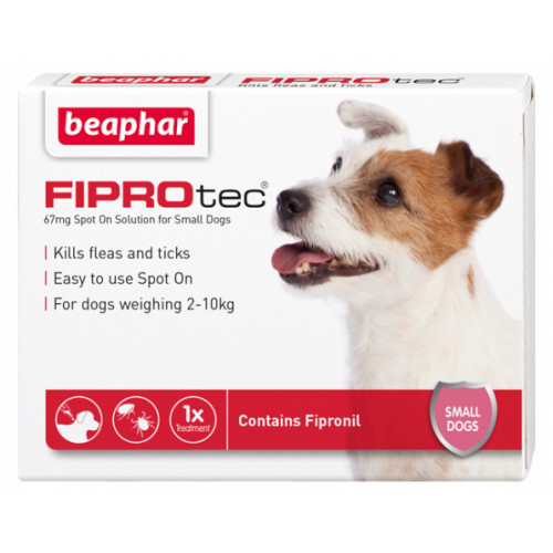 Beaphar FIPROtec Spot On for Dogs