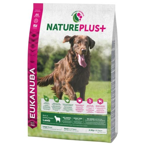 Eukanuba Nature Plus Lamb Adult Large Breed Dog Food