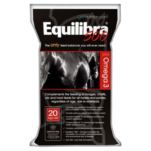 GWF Nutrition Equilibra 500 & Omega 3 For Horses