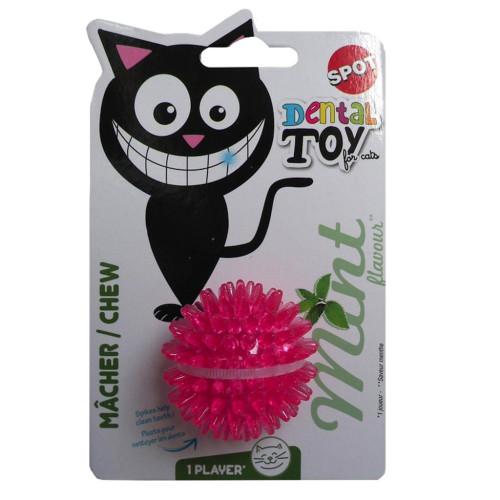 Spot Catnip Dental Ball Cat Toy