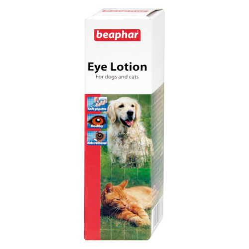Beaphar Eye Lotion for Cats & Dogs 50ml x 3