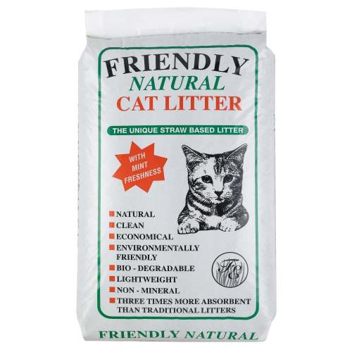 Friendly Natural Cat Litter