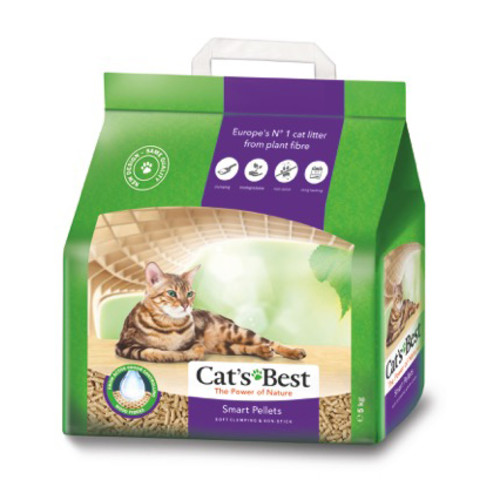 Cats Best Smart Pellet Clumping Cat Litter 10 Litres (5kg)